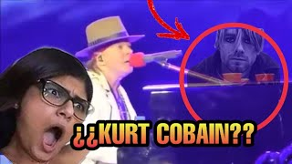 Ghost in the Gun's N' Roses concert ¿Kurt Cobain?/ Fantasma En Concierto De Guns N' Roses