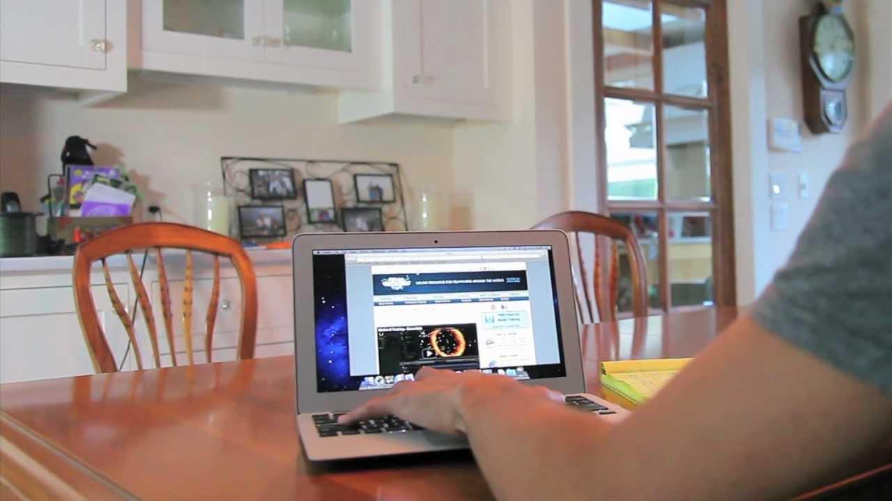 how to make google my homepage on macbook air