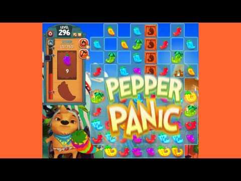 Pepper Panic Saga Level 296