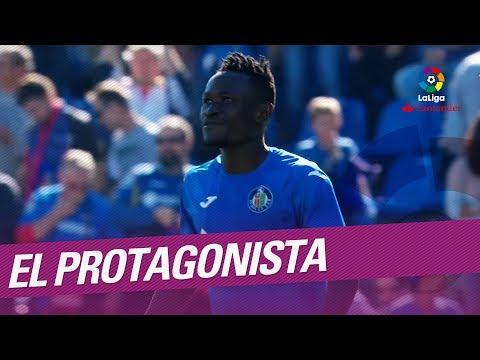 El Protagonista: Dakonam Djené, jugador del Getafe CF