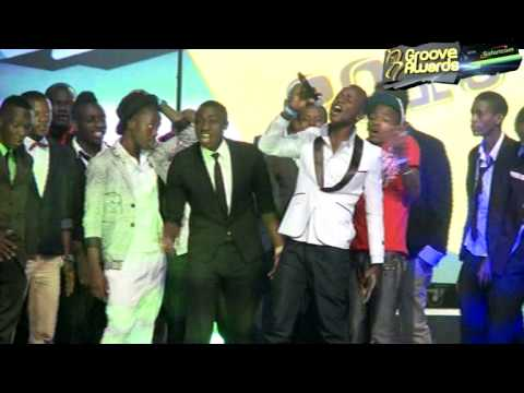 Male Artist of The Year Groove Awards 2013 - Willy Paul