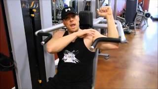 Workout 101- Machine Shoulder Press
