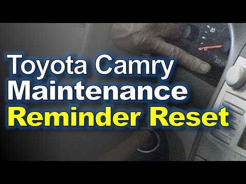 reset maintenance light toyota camry 2014 reset maintenance required. Black Bedroom Furniture Sets. Home Design Ideas