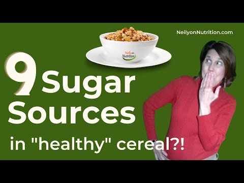 A cereal w/o 101 artificial ingredients, yet 9 sources of sugar?!