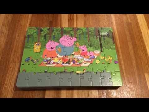 Peppa Pig 9 Jigsaw Puzzles Fun Kids Picture Reveal