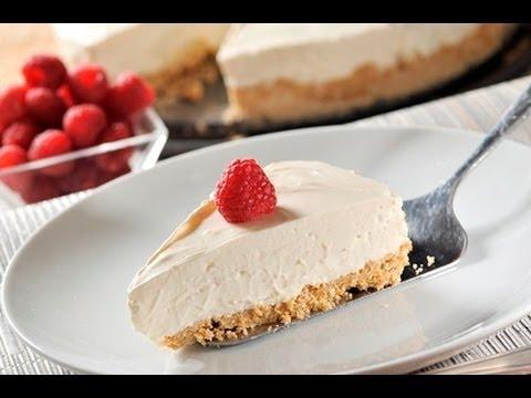 Pay de queso sin hornear - Unbaked Cheesecake