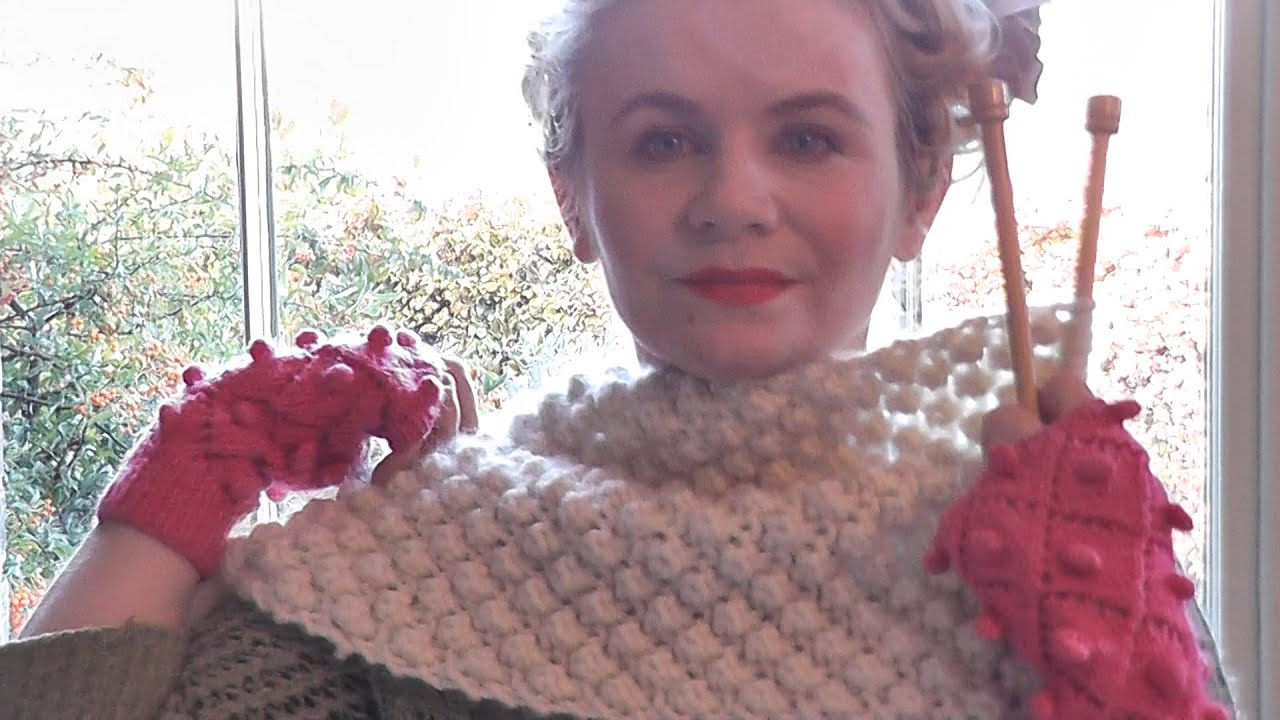 Knitting Instructions For Beginners Cast On : Trinity stitch scarf beginners edit youtube