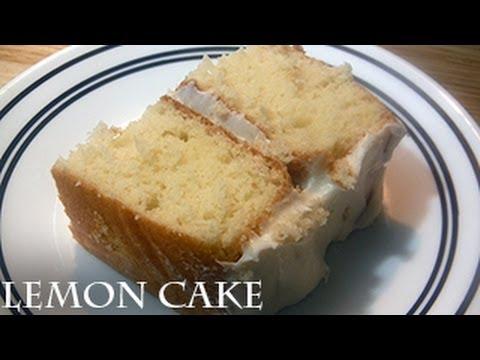 How to make Lemon Cake - Ina Garten Recipe