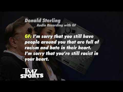 Donald Sterling Racist Recording