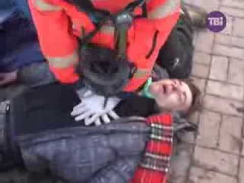 Exclusive from Ukraine Kiev civil war begins 18 February 2014