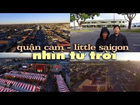 Little Saigon, Quận Cam, nhìn từ trời