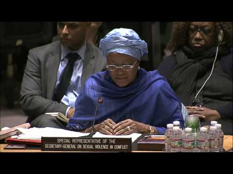 UN Special Representative on Sexual Violence in Conflict addresses Security Council