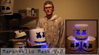 Marshmello Helmet / Mask Turtorial Complete with Steps V.2