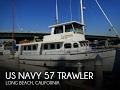 SOLD Used 1955 US Navy 57 Trawler in Long Beach California