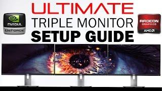 How To Setup Triple/Multiple Monitors