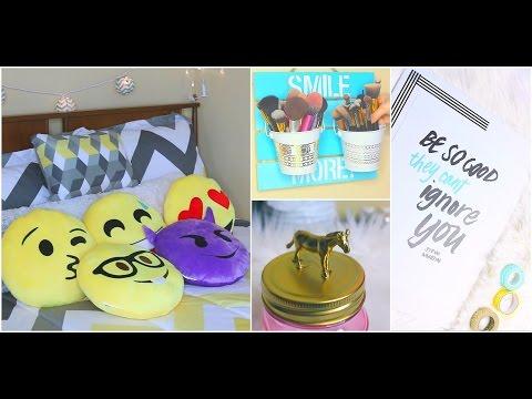 Tự Tay Làm Mới Phòng & Sắp Xếp Đồ Makeup ♡ DIY ♡ Bedroom Makeover ♡ TrinhPham