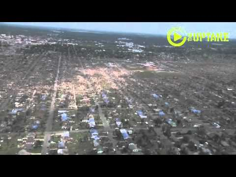 Aerial View Of Joplin Tornado Damage