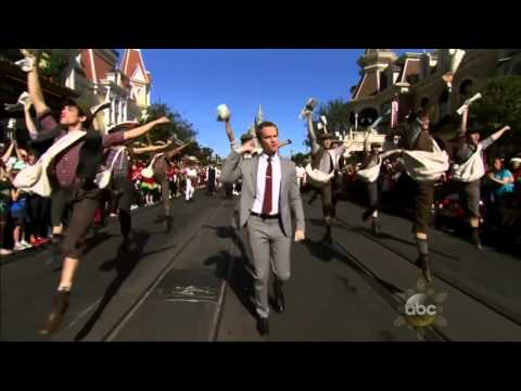 Disney Parks Christmas Day Parade 2013 Opening Musical Number - Neil Patrick Harris