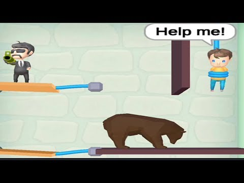 Rescue Cut   Rope Puzzle   SHORT LIFE   levels 67 to 100 and fails