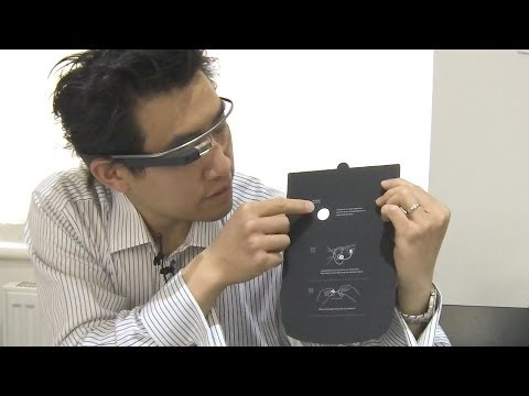 Google Glass UK Explorer Edition Unboxing Video