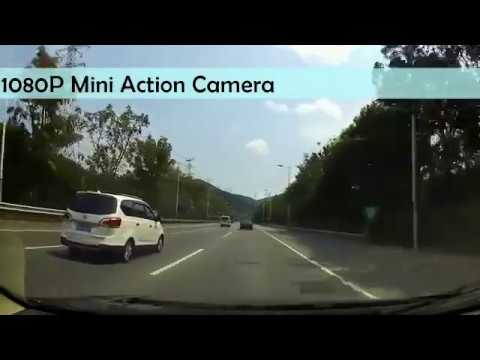 Cheapest Action Camera 2017 1080P HD Mini Sports DV Video Test