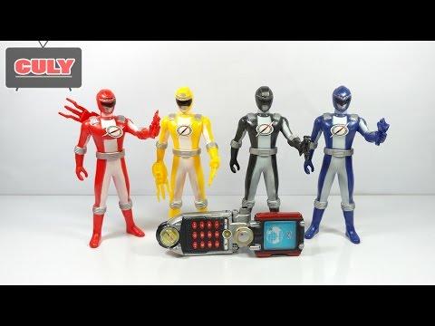 Siêu nhân sấm sét GoGo Sentai Boukenger đồ chơi trẻ em - power rangers toy for kids