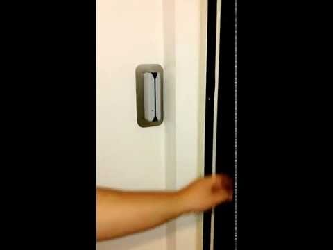 TBA4000RF con testina remota Rfid controllo accesso varco pedonale interno
