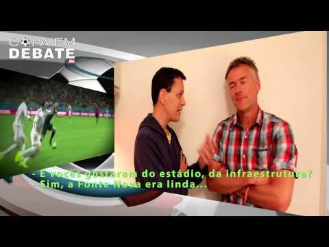 O QUE DIZ UM TURISTA NA COPA BRASIL 2014? (Tourist in the World Cup)