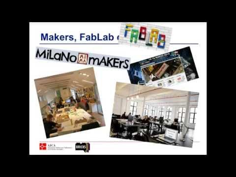 Makers, FabLab, co-working. Formiamo gli innovatori.
