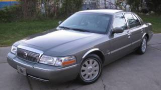 2003 Mercury Grand Marquis Ultimate Edition, Start Up, Driving, and In Depth Tour