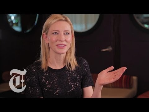 Oscars 2014 | Cate Blanchett Interview: 'Blue Jasmine' | Carpetbagger | The New York Times