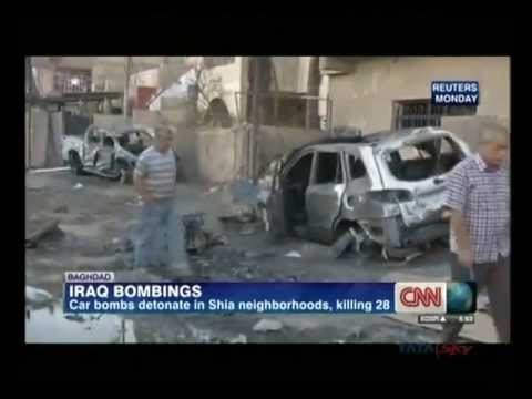 Iraq violence: Baghdad hit by series of deadly blasts