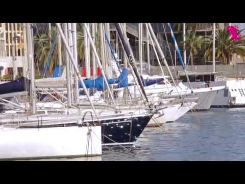 HoyOnlineTV – Puerto de Barcelona – Port Vell – Walking along seaport of Barcelona