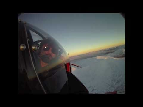 Winter flying in Iceland II