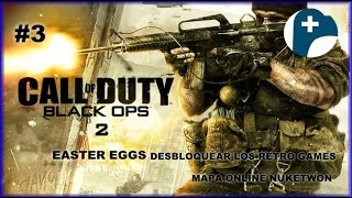 Easter Egg Call Of Duty Black Ops II Desbloquear Los Retro