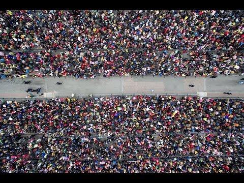 (VTC14)_Những hình ảnh giật mình về cuộc di cư lớn nhất thế giới