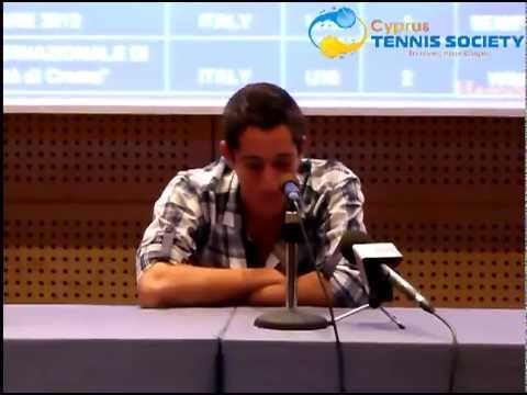 Petros Chrysochos Europe Tennis Player of 2012