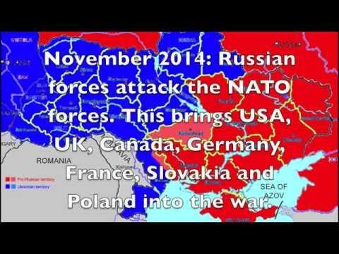 Russia-Ukraine war (2014-2016) simulation