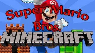 Minecraft: Super Mario Bros. (Custom Parkour Map)