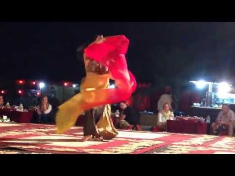 More Belly Dancing @ Arabian Nights Desert Camp, Dubai, UAE (United Arab Emirates) 3/4