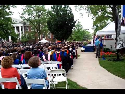 Gettysburg College Commencement  May 2013