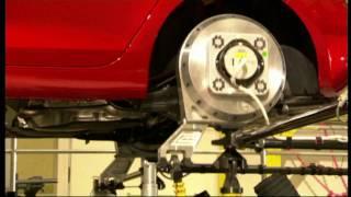VW Golf kasis testi - amörtisör test - 2010