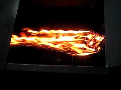 Icopal -  kontrolowany test ogniowy