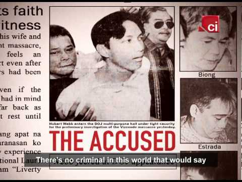 vizconde massacre What happened to the vizconde massacre case here in the philippines is a pure oppression of rights after 15 years, the accused led by hubert webb, tony lejano, pyke fernandez, et al, were acquitted (dec14, 2010)to the crime that is considered.