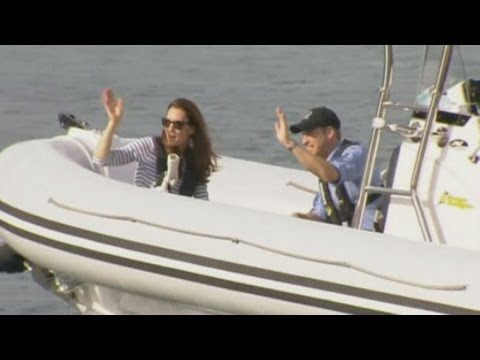 Duke and Duchess of Cambridge: Kate beats Prince William in New Zealand yacht race