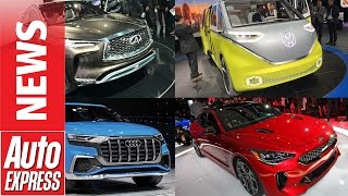 Best cars at the 2017 Detroit Motor Show. Auto Express.
