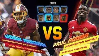 Josh Norman Skills Showdown vs. Paul Pogba   Game Recognize Game   NFL vs Premier League