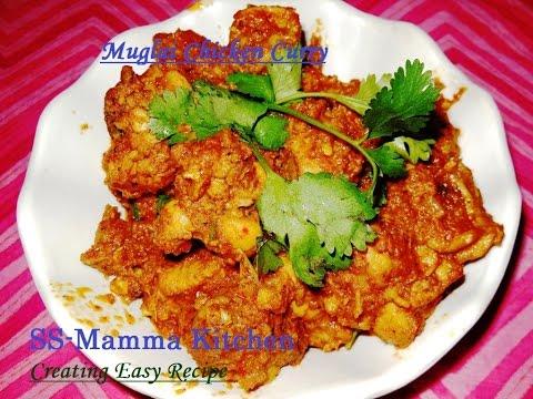 Mughlai Chicken Curry (मुग़लई चिकेन करी)...
