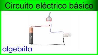 Circuito eléctrico básico con interruptor