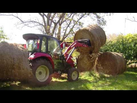 Safely Moving Round Bales (Video)